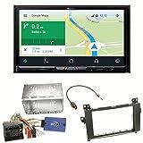 Pioneer AVIC-Z910DAB Navigation Digitalradio CarPlay Android Auto Bluetooth USB DAB+ CD DVD MP3 Einbauset für Mercedes Viano Vito W639