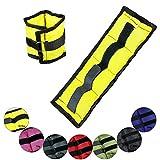 Bracciali e cavigliere con pesi 2 x 0,5 - 4 kg Peso Polsini esecuzione Pesi per caviglie e polsi di BB Sport, Peso:2 x 0.5 kg