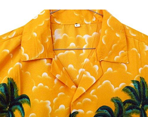 Funky Chemise Hawaiienne XS-XL Jaune