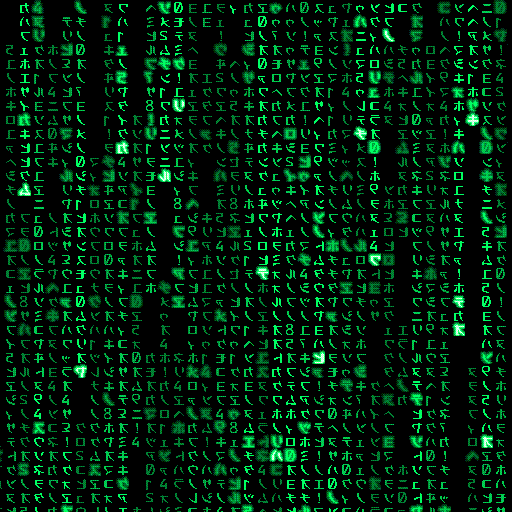 Welcome Picture's Lovers: Matrix Wallpaper