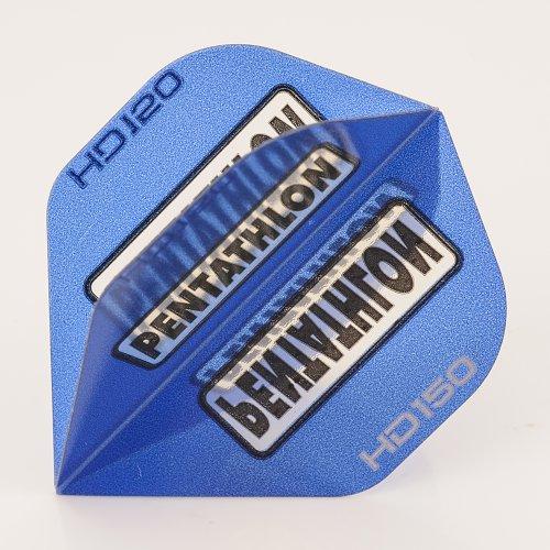 5-x-sets-of-pentathlon-blue-super-tough-hd150-dart-flights-standard-by-perfectdarts