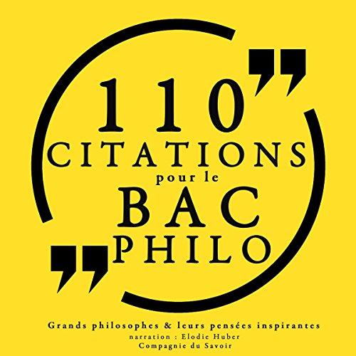 Philosophie pour tous. 110 citations pour le bac philo par  divers auteurs