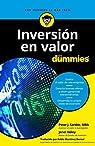 Inversión en valor para Dummies
