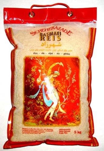 Scheherazade Basmatireis, Qualität A++, 1er Pack (1 x 5 kg Packung)