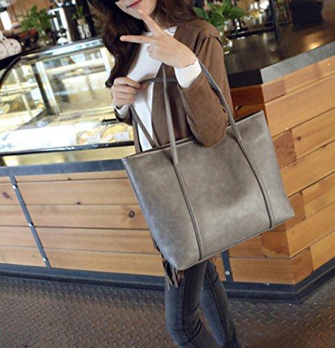 Einkaufstasche Frau Paket White Handtasche Schultertasche Retro LAIDAYE qUEntt