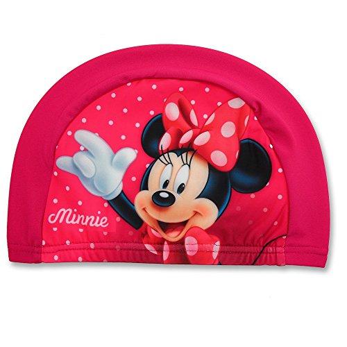 GUIZMAX Bonnet de Bain Minnie Mouse Fille Rose Enfant