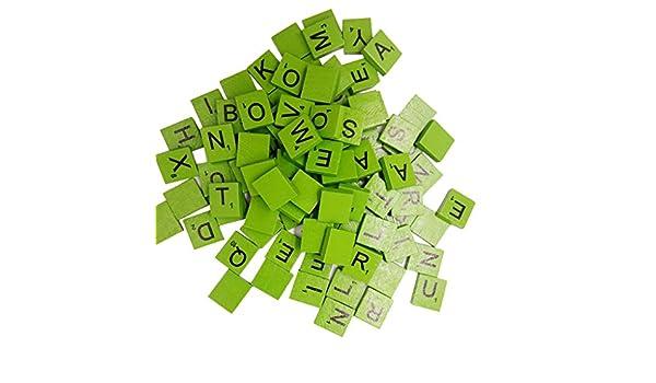 Sharplace pezzi set piastrelle di lettere alfabeto in legno