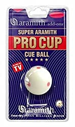 Aramith Pro Cup White Ball - 2 116 Inch Uk Size