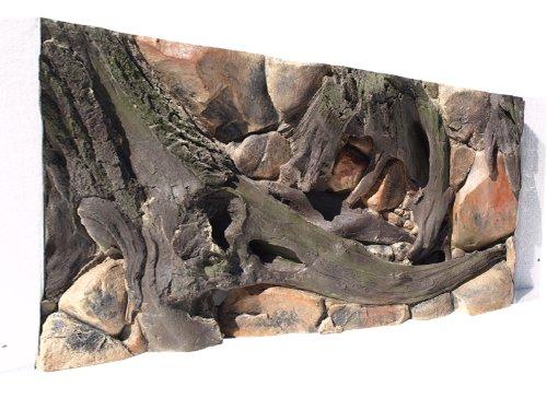 Aquarium Rückwand 3D Amazonas 100x60cm bei Robizoo