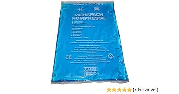 wei/ß mit Frotteebezug Kalt Warm Kompresse Kompressen Kompresse Coolpack K/ühlkissen 13x14 cm
