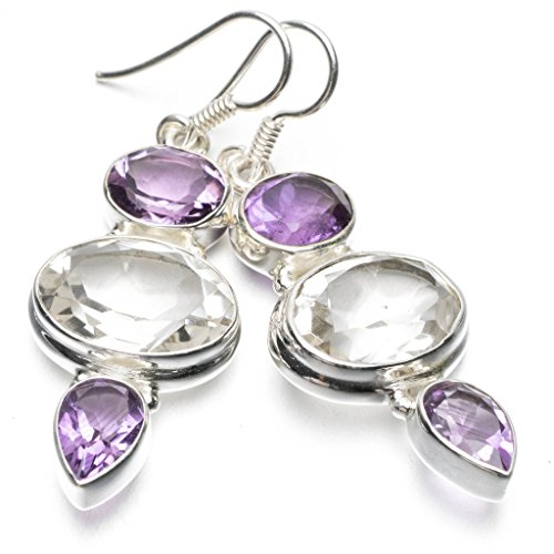 stargemstm-natural-white-topaz-and-amethyst-unique-punk-style-925-sterling-silver-earrings-2