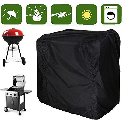 Housses pour barbecue | Housse de protection, bâches pour barbecue | Vent, étanche, protection contre le soleil | 2 x revêtements résistants à l'eau, double couture | Size XS 80 x 66 x 100 cm