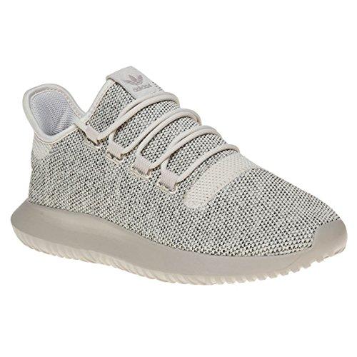 adidas-tubular-shadow-knit-scarpe-da-ginnastica-uomo-bianco-sporco-cbrown-lbrown-cblack-40-2-3-eu