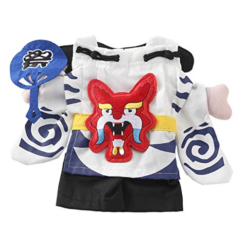 Magier Kostüm Weibliche - Your little world Hunde-Kostüm für Halloween, japanischer Magier und Katzen, Blau