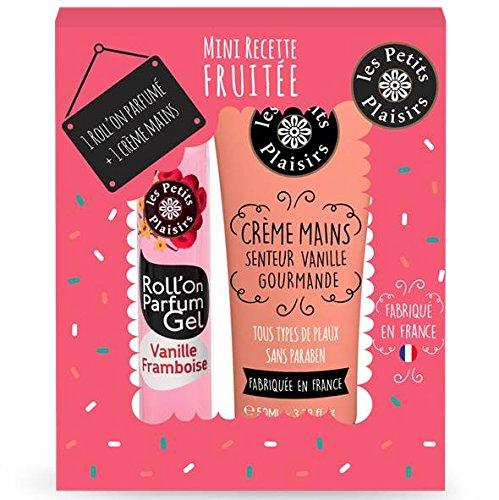 Les Petits Plaisirs Coffret Mini Recette Fruitée Roll'On + Crème pour Mains