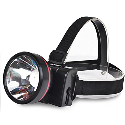 WGE LED des Phares Rechargeables en Plein Air Porter Une Tête Type Lampe De Poche Éblouissement Cave Lampe De Mineur Pêche De Nuit Feux De Poisson