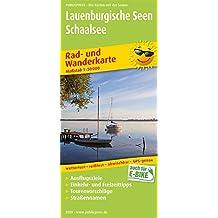 Lauenburgische Seen - Schaalsee: Rad- und Wanderkarte mit Ausflugszielen, Einkehr- & Freizeittipps, wetterfest, reissfest, abwischbar, GPS-genau. 1:50000 (Rad- und Wanderkarte/RuWK)