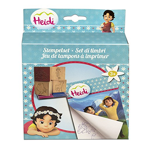 Studio 100 MEHI00000020 - Heidi - Stempel-Set