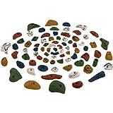 80 Klettergriffe im Starterset, Farbe:bunt