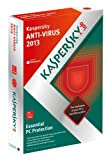 LITEON KASPERSKY SOFTWARE ANTI-VIRUS 2013 1 USER 1 YEAR DVD