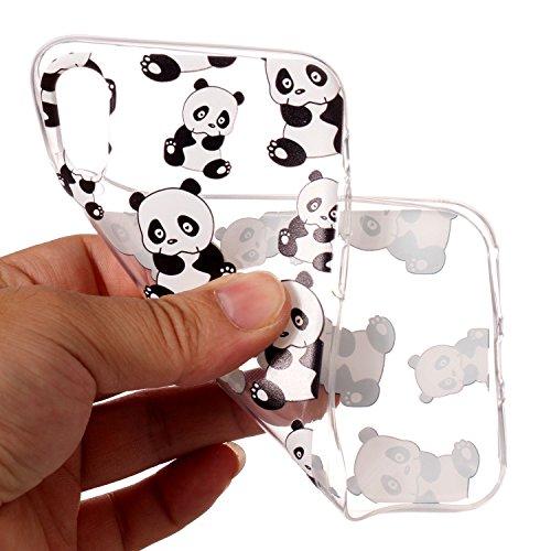 Coque iPhone 6, Coque iPhone 6S, Anlike iPhone 6 6S (4,7 Zoll) Téléphone Coque / Étui Flexible protection en Soft TPU Silicone Shell Etui Housse de Protection Coque Etui Silicone Transparente case cov Petit panda