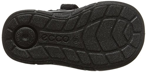 Ecco First, Chaussures Marche Bébé Fille Noir (51052Black/Black)