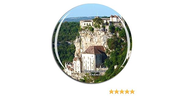 Weekino France Arras Aimant de r/éfrig/érateur 3D Verre Cristal Touristique Ville Voyage Souvenir Autocollant de r/éfrig/érateur Collection