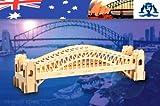 Holzbausatz Brücke von Sydney