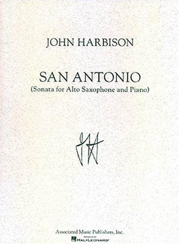 San Antonio Sonata: For Saxophone & Piano