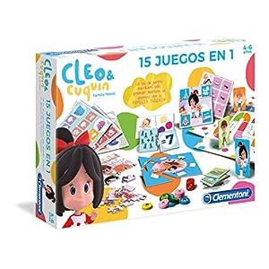 Clementoni- Educación Infantil Cleo & Cuquin, (55246)
