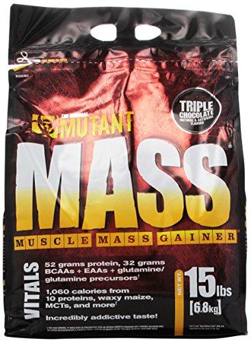 Mutant Mass Integratore, Triple Cioccolato - 1 Prodotto - Mais Acqua Sciroppo