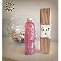 Bottiglia calma, stile Montessori, bottiglie sensoriali, regali originali, regali per bambini, bottiglia calmante ROSA e più colori