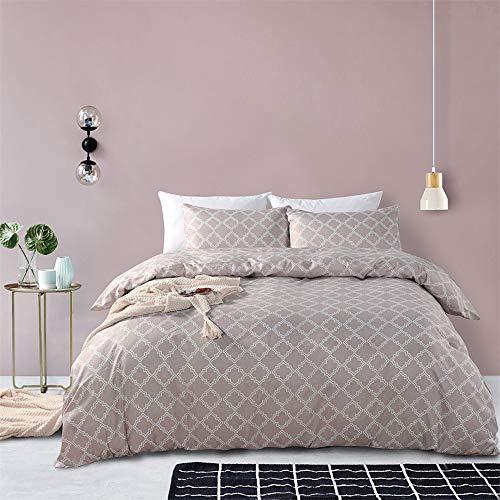 SHJIA Bettwäsche Set Super King Bettbezug Sets Queen Size Bettdecke Bettwäsche Baumwolle G 228x228cm (Verkauf Für Preis Faultier)