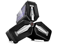 DeepCool tristellar sw schwarz Computer-Gehäuse Gaming-miniITX