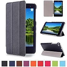 """Funda Huawei MediaPad T1 7.0 -DETUOSI MediaPad T1 7.0 Pulgadas Ultra Slim Ligera Funda de PU Cuero,Smart Book Cover Case Carcasa con Soporte Función para Huawei MediaPad T1 7.0"""" Tablet"""