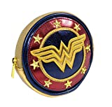 DC Comics, Wonder Woman Shield Coin Purse, Y1H410, Purse, Multi-colour, 10cm x 10c