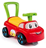 Smoby - 443015 - Porteur Auto - Jouet de Premier Age - Rouge