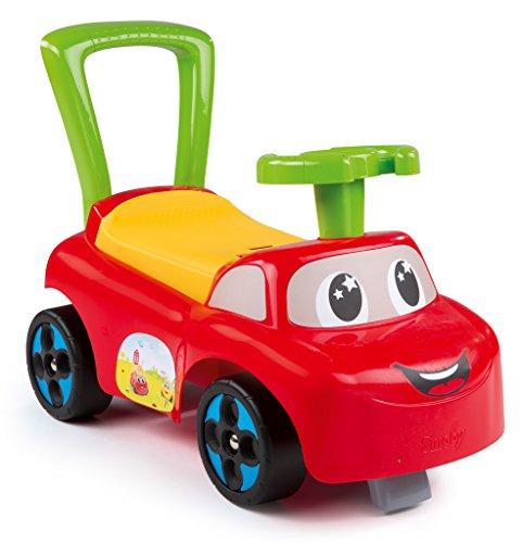 Smoby Toys, 443015, Porteur Auto, Jouet de Premier Age, Rouge