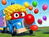 Party Clown/Der Formel 1 Lastwagen/Der Müllverbrennungslastwagen/Der Autowaschanlagen Lastwagen