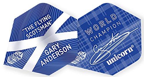 Unicorn Flights Gary Anderson World Champion Ultra Fly, 100 Plus, 5 Sets