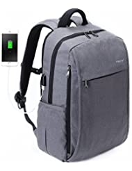 Fubevod Laptop Rucksack Schulrucksack Rucksack für Schule Erwachsene Rucksack Daypacks Laptop Backpack USB Rucksack
