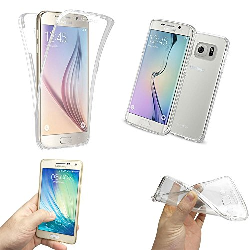 MNM DISTRIB® COQUE SILICONE GEL TPU INTEGRAL TRANSPARENT POUR SAMSUNG GALAXY S4