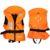TBF 100N Life Jacket (Hi Vis Orange) Vest Buoyancy Aid