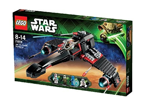 LEGO Star Wars 75018 - JEK-14's Stealth Starfighter (Lego Star Wars-speicher)