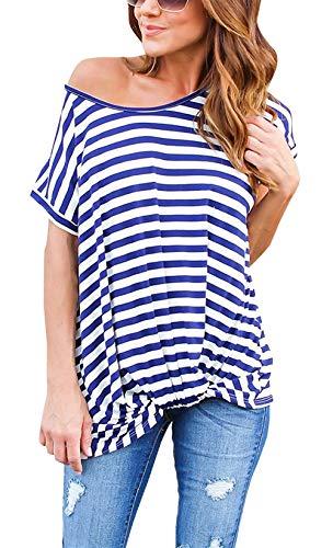 a3bbc2fd77 Camiseta De Las Señoras Summer New Cuello De Manga Redondo Fashion Chic  Ropa Corta Tops Tops