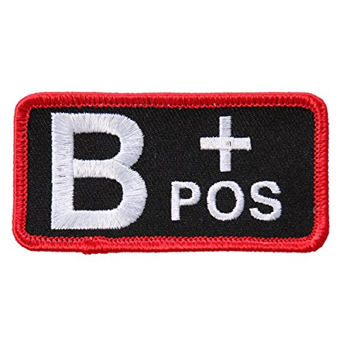 hot-leathers-blood-type-b-pos-high-thread-embroidered-iron-on-saw-on-heat-sealed-backing-b-positive-