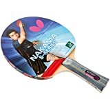 Butterfly Nakama S-10 Table Tennis Racket – ITTF Approved Ping Pong Paddle – Wakaba Table Tennis Rubber Thick Sponge Layer Ping Pong Racket – 2 Ping Pong Balls Included