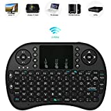 MSE Mini Keyboard Perfect For Mobility, Ergonomic Wireless With Touchpad - For Smart TV, Mini PC, HTPC, Console, Computer