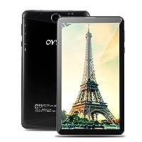 OYYU T7 Plus 7 inch Phablet 4G Unlocked Phone Call Tablet - Android 6.0 OS MTK8735D Quad Core 1.1GHz Processor 1280 *720 IPS Screen 1GB RAM 16GB Storage WiFi, Bluetooth GPS Dual SIM card Slot tablets