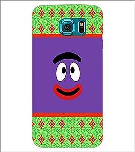 PrintDhaba Cartoon D-3311 Back Case Cover for SAMSUNG GALAXY S6 EDGE (Multi-Coloured)